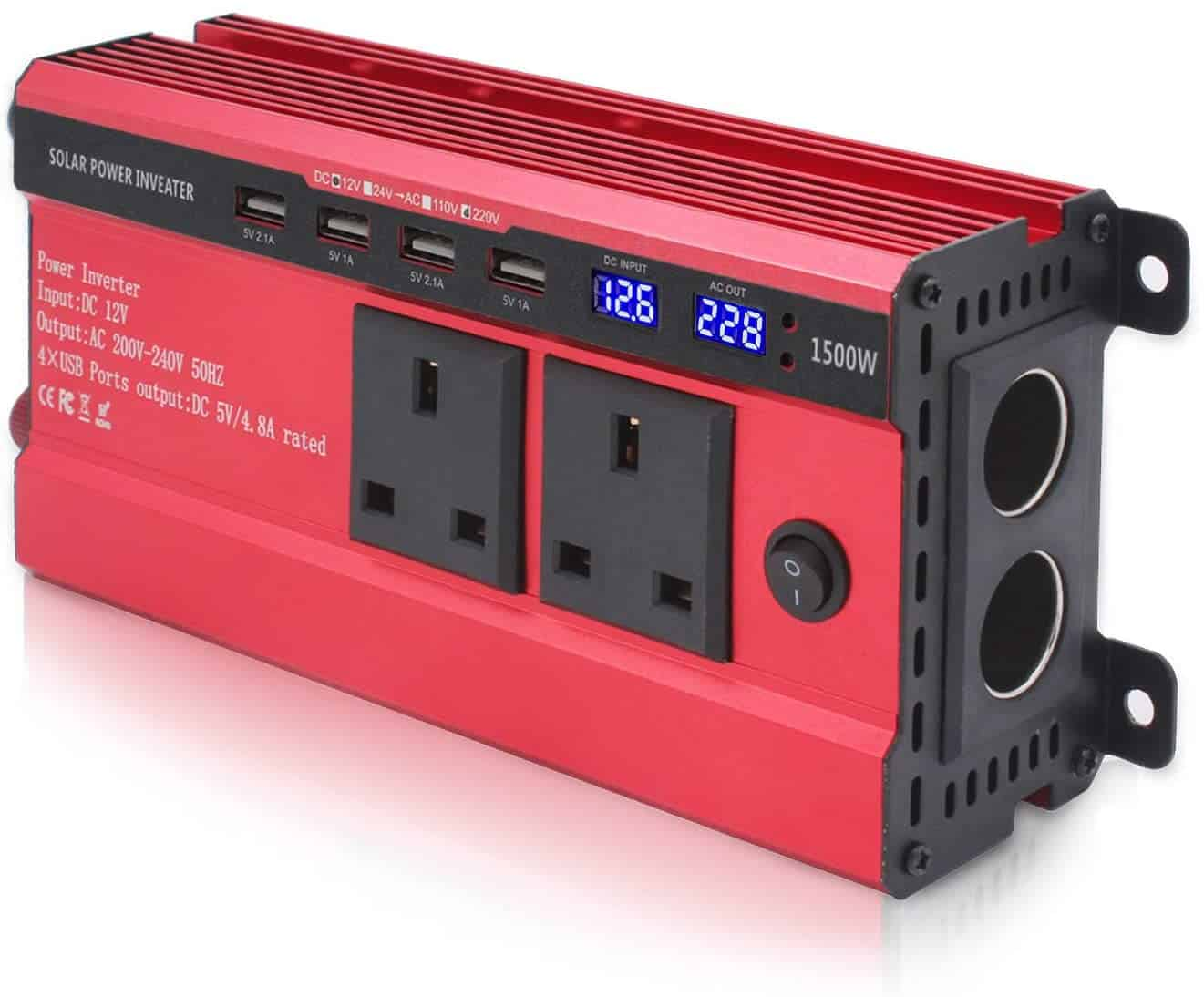 Solar inverter convertes dc to ac current in solar systems