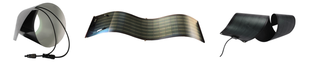Thin film are the best kind of solar panels for non-flat locations