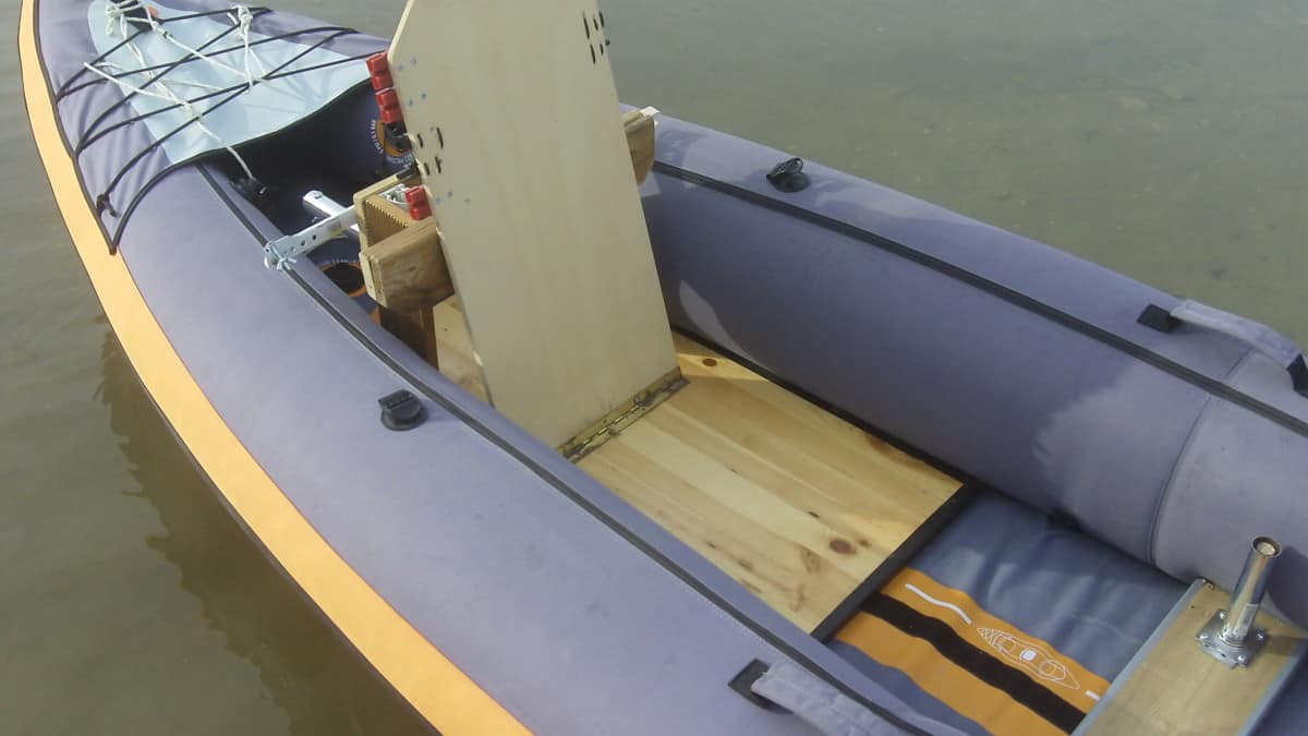 Essential inflatable kayak mods - Fitting a hard floor into an inflatable kayak