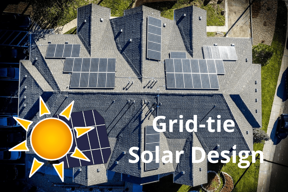 Grid-Tied Solar Panels Solar System Design - featured image