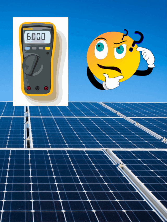 How To Test A Solar Panel Output