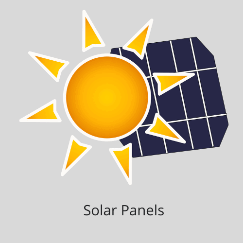A selection of recommended solar panels for DIY installations.