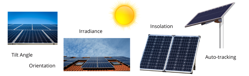 What affects solar panel wattage output