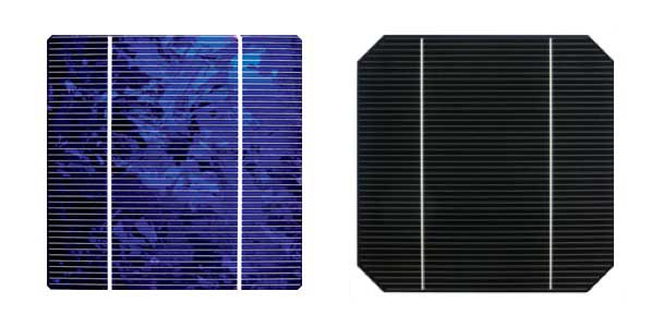 How to Increase Solar Panel Efficiency - monocrystallin and polycrystalline cells