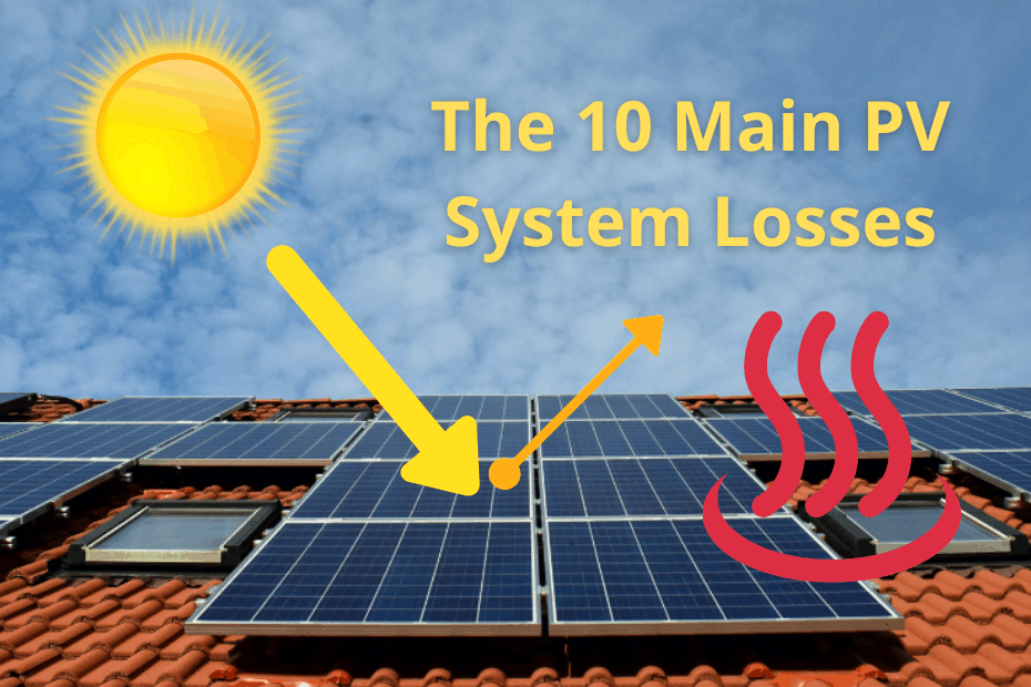 10 Solar PV System Losses - post top