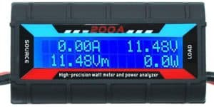 Measure RV energy use with a DC wattmeter