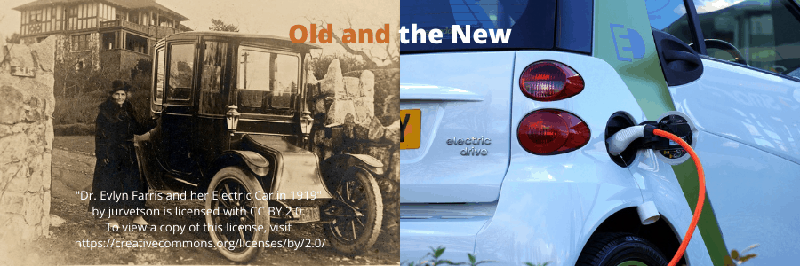 All electric cars need charging, old and new