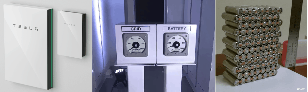 Tesla power wall solar battery storage guards against power outages