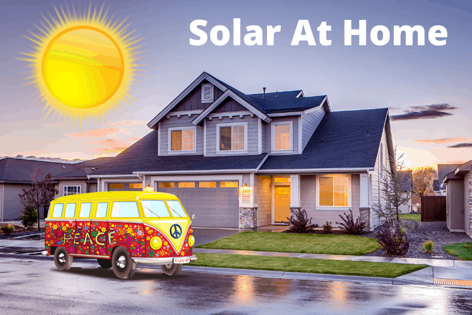 Ways to use solar panels at home featured image