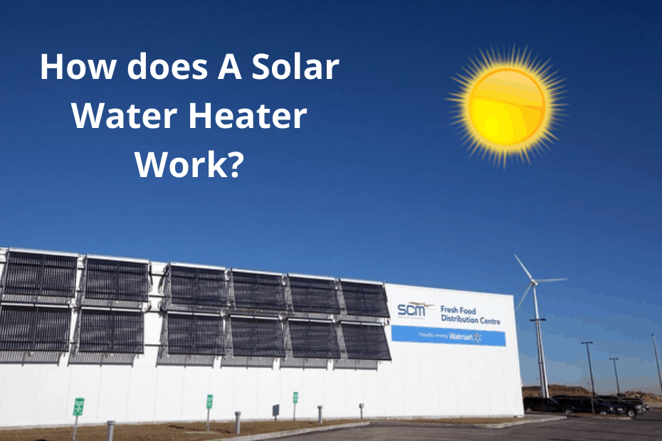 How does A Solar Water Heater Work - featured