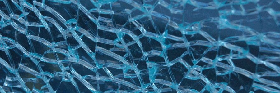 Tempered glass used in rigid solar panels
