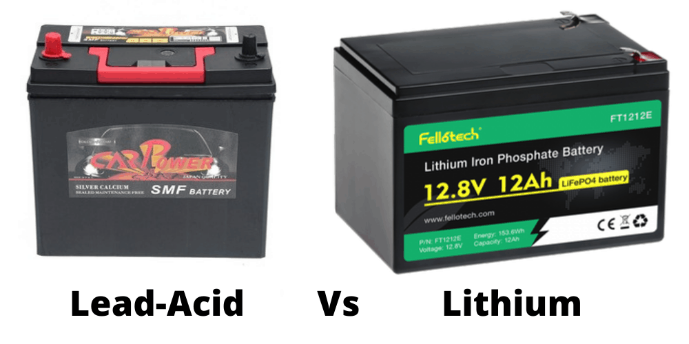 Are lead acid or lithium batteries best for home battery use?