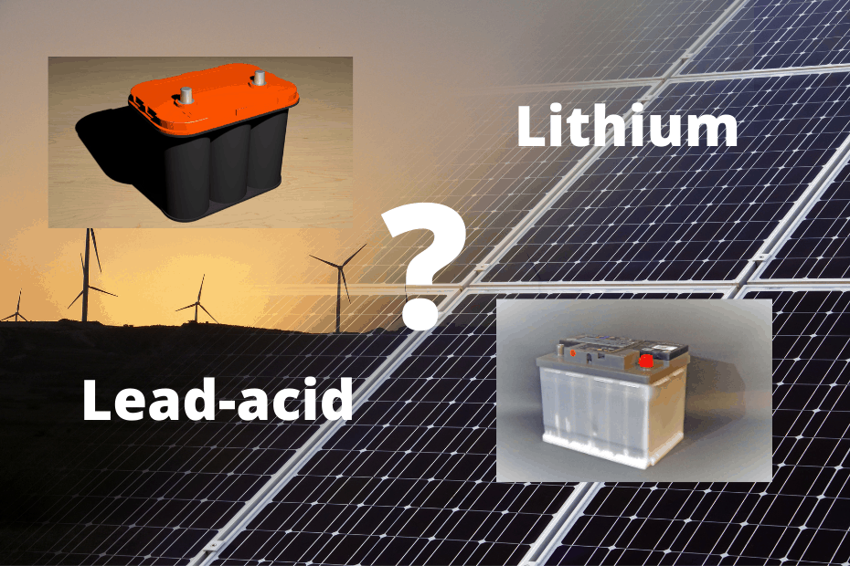 Which batteries do you need for home solar energy storage_featured image