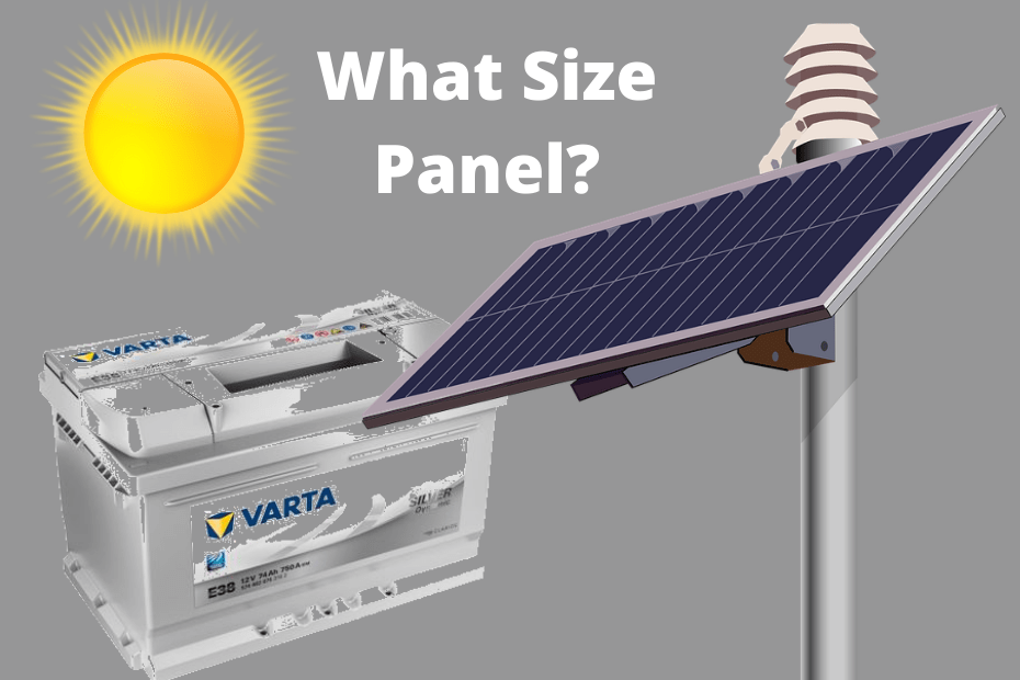 What Size Solar Panel Do I Need To Charge A 200ah Battery_featured
