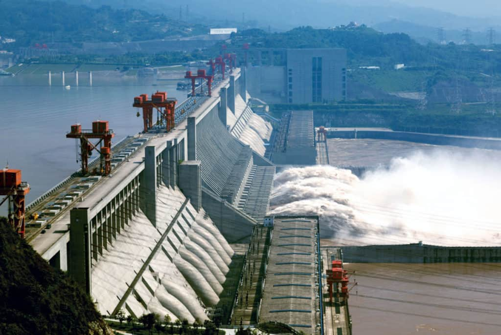 3 Gorges Dam Hydroelectric Power China