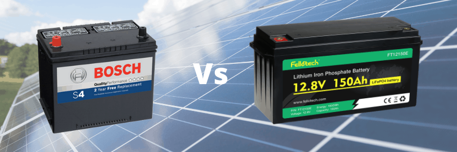 Why are 100Ah lithium batteries better than lead acid?