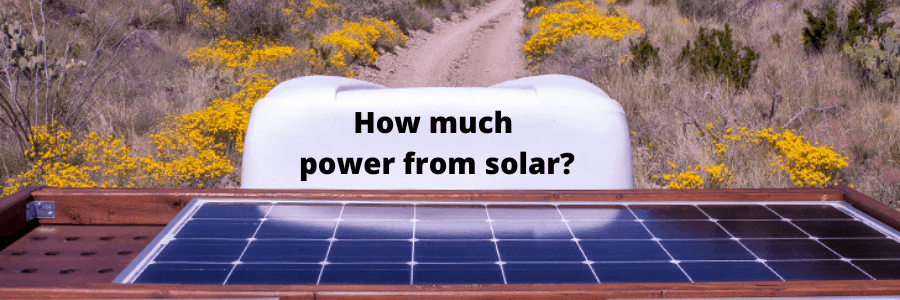 How Much Power Can Solar Panels Produce