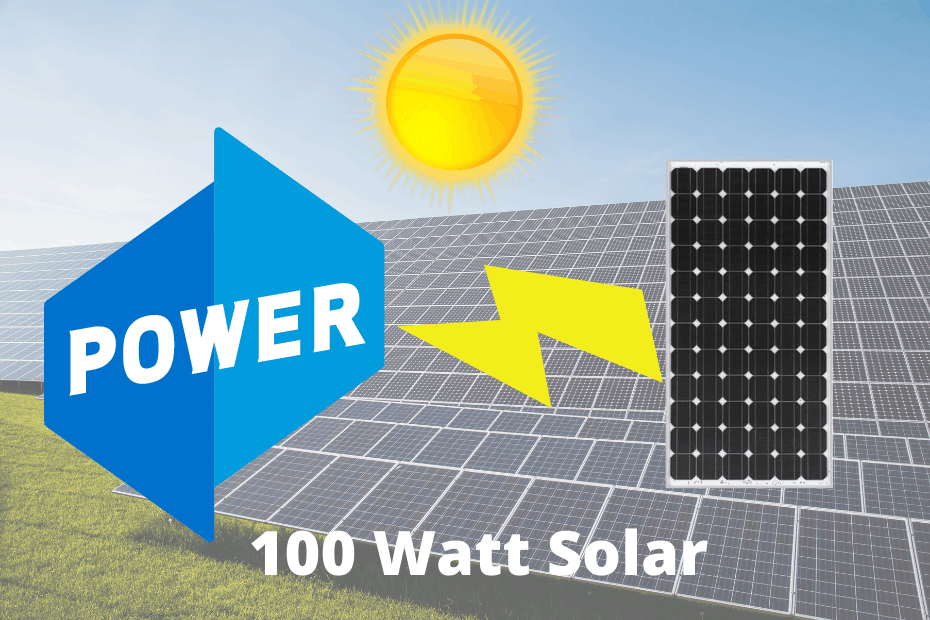 How Much Power Does A 100w Solar Panel Produce?_featured image
