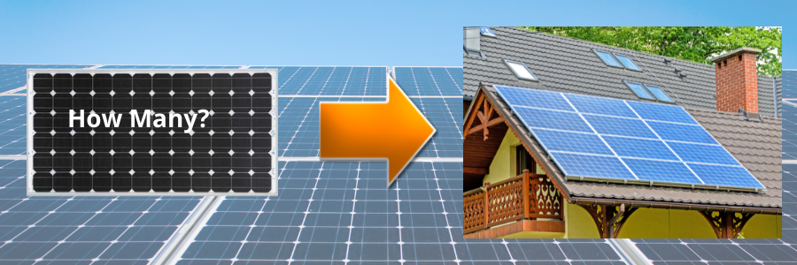 Solar panel sizing for your home