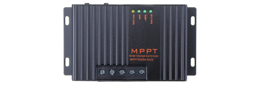 Dual output mppt 30 amp charge controller